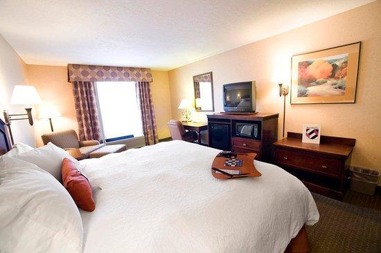 Hampton Inn Santa Fe: King Bedded Guestroom