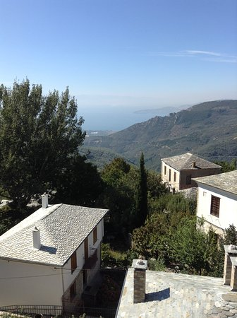 Άγιος Λαυρέντιος, Ελλάδα: Η θέα από το δωμάτιο που βλέπει την θάλασσα.