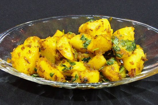 Paneer Pasanda Shallow fried cottage cheese cubes served with