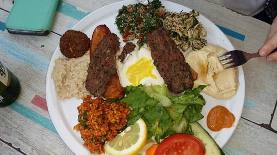 yarok fine syrian food from damascus mixed