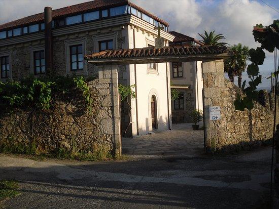 Pazo de Galegos: entrée