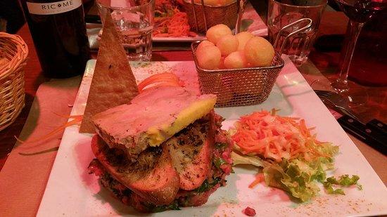 La Cuisine des Tontons: Tartare Francis Blanche (classique + foie gras)