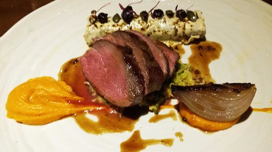 The Old Stamp House Restaurant: Venison