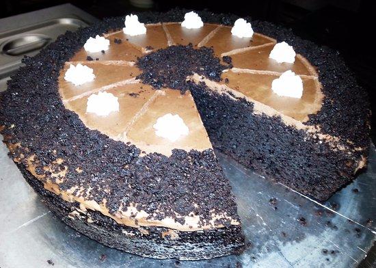 Hillcrest, Sydafrika: Chocolate cake