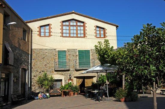 Garriguella, Spania: El Restaurante des de la terraza.