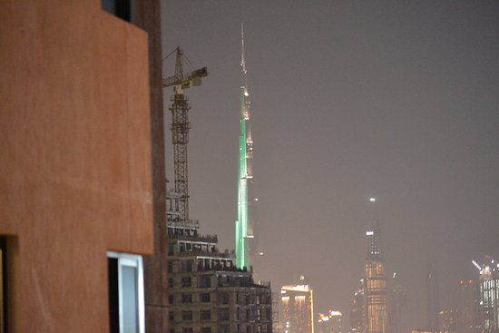 Arabian Park Hotel: view from room