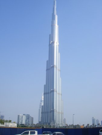 Arabian Park Hotel: Burj Khalifa
