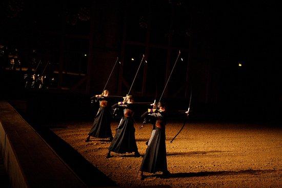 Académie Équestre de Versailles : Kuydo - Tir à l'arc japonais
