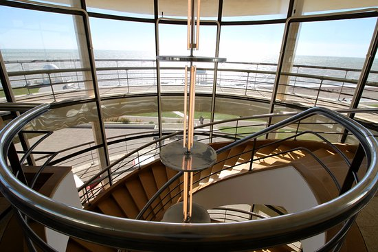 Bexhill-on-Sea, UK: Top Floor of Pavilion With View of the Sea