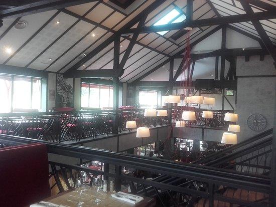 Saint-Gregoire, France: Etage du restaurant