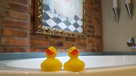 Rubber duckies with the bathtub! - Picture of African Pride Melrose ...