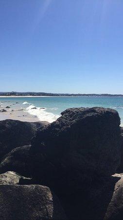 Coolangatta Beach: Lunch spot view