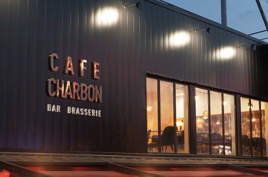 Café Charbon Atlantis : Devanture extérieure