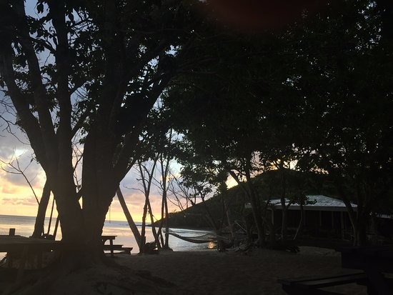 Yasawa Islands, Fiji: Solnedgång