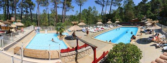 Camping Bois Simonet: Nos piscines