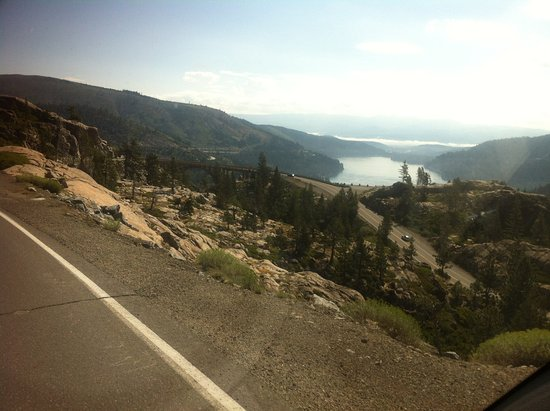 Donner Lake Village: on top