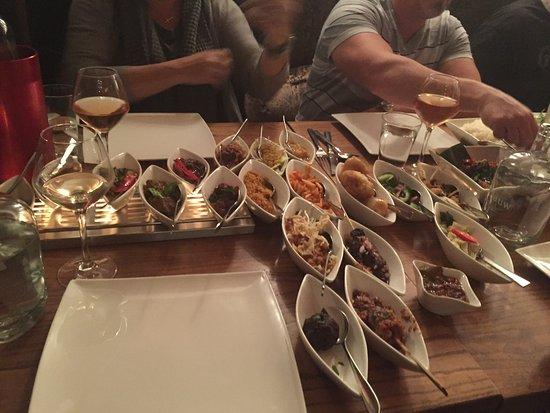 restaurant blauw - our meal - photo de restaurant blauw amsterdam