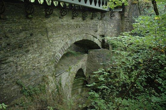 Devil's Bridge (Pontarfynach), UK: the bridges