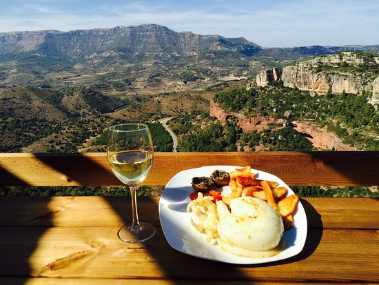 Siurana, Spanien: На фото Sepia a la planxa из меню ресторана