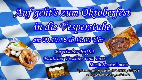 Oppenheim, Germany: Oktoberfest