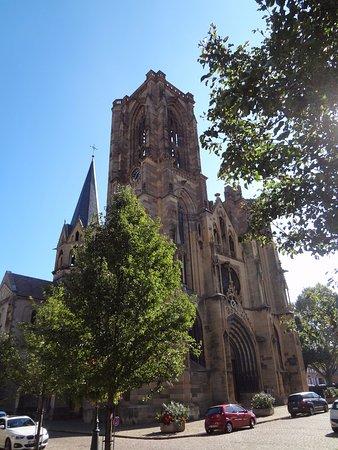 Eglise ND Rouffach vue extérieure de Eglise Notre Dame de