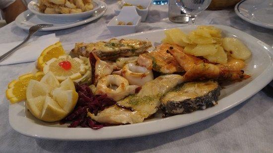 Casa Antonio : Grigliata di pesce