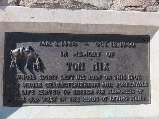 Florence, AZ: Closeup of plaque