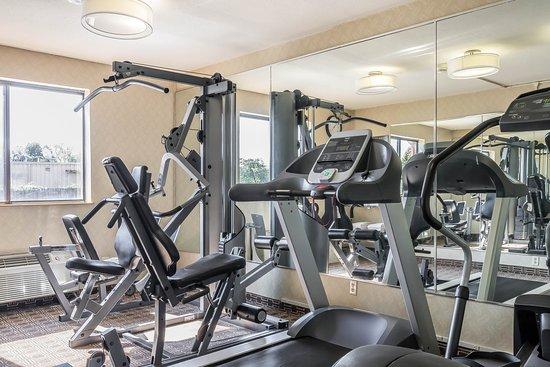 Comfort Inn Nashville/White Bridge: Fitness center