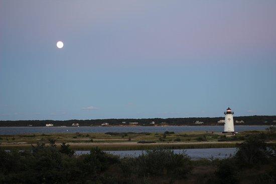 Edgartown Lighthouse at dusk
