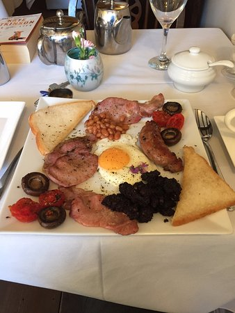 The Old Post Office Guest House: THAT breakfast - lovingly prepared...