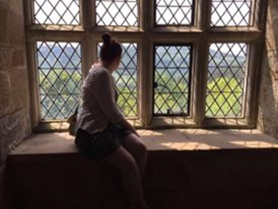 Chirk, UK: in the castle