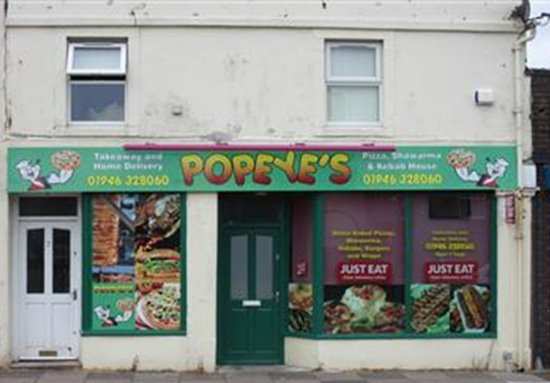 Cleator, UK: Popeye's