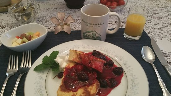 Stuffed French Toast Picture Of Echoes Of The Glen Bed Breakfast