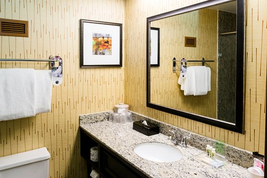 Big Rapids, MI: Granite Shower Guest Bathroom
