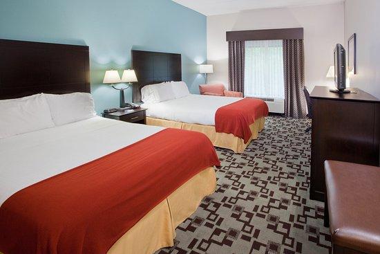 Apex, Carolina del Norte: ADA/Hearing accessible Two Queen Guest Room