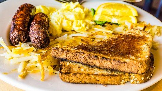 Boardman, Oregón: All American breakfast