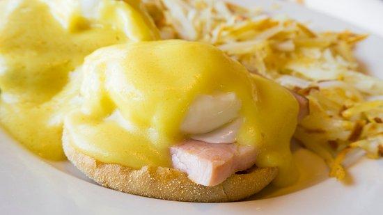 Boardman, Oregón: Eggs Benedict breakfast