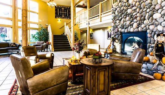 Boardman, OR: Hotel lobby