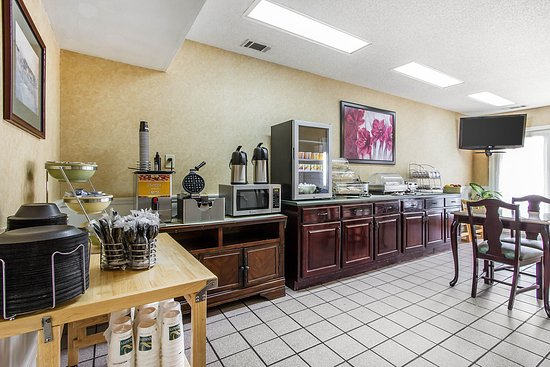 Selma, AL: Breakfast area