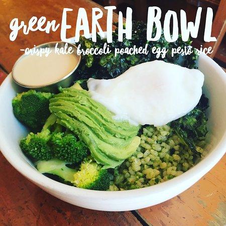 The Organic Grill : Green Earth Bowl