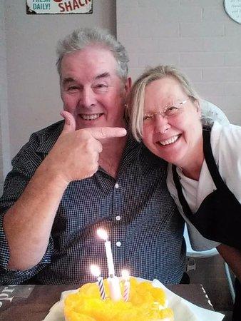 Overstrand, UK: Husband's birthday at Gardener's Retreat