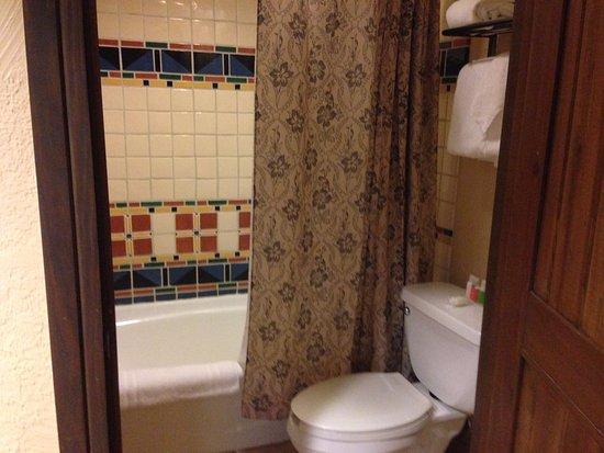 Villas at Disney's Wilderness Lodge: Deluxe Studio: Bathroom
