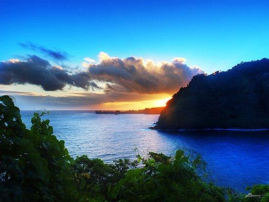 Makawao, Hawái: Nothing like a Hana Sunset