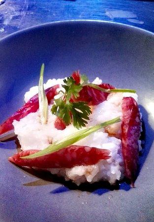 le delight: Congee et saucisse chinoise au 5 épices.