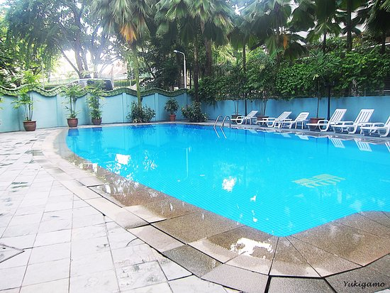 Hotel Royal Singapore: Swimming pool here is large enough for starting ur cool day. Can 2 meters in-depth challenge u?