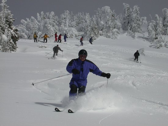Vernon, Canada: Skiing at Silver Star Mountain - the best BC has to offer!