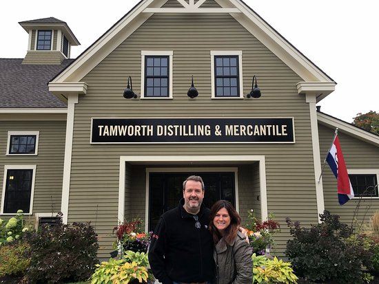 Tamworth, NH: The distillery's easy-to-find front entrance