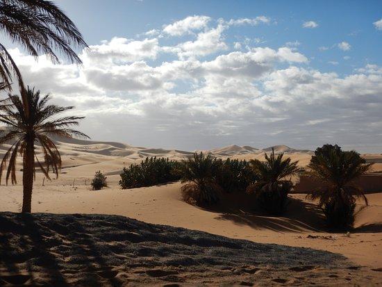 Auberge Ksar Sania: Les dunes à côté de l'hôtel, balade à pied