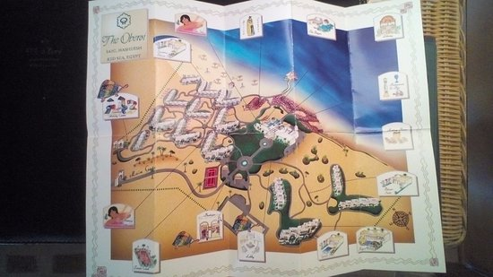 Map of grounds Picture of The Oberoi Sahl Hasheesh Hurghada
