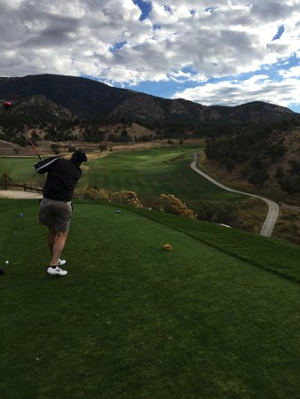 New Castle, CO: 10th tee